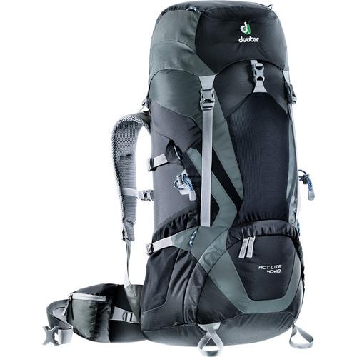 Deuter Sport ACT Lite 40 + 10 Backpack (Black/Granite)