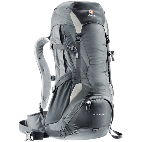 Deuter Sport Futura 32 Hiking Backpack (Black/Granite)