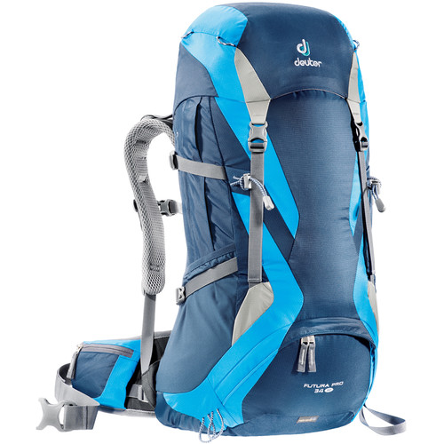 Deuter Sport Futura Pro 34 SL Hiking Backpack (Midnight/Turquoise)
