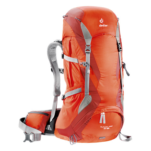 Deuter Sport Futura Pro 34 SL Hiking Backpack (Papaya/Lava)