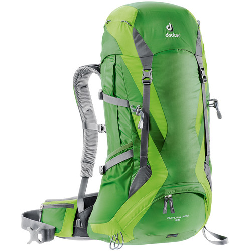 Deuter Sport Futura Pro 36 Backpack (Emerald/Kiwi)