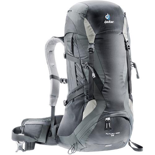 Deuter Sport Futura Pro 36 Backpack (Black/Granite)
