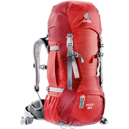 Deuter Sport Fox 30 Backpack (Fire/Cranberry)