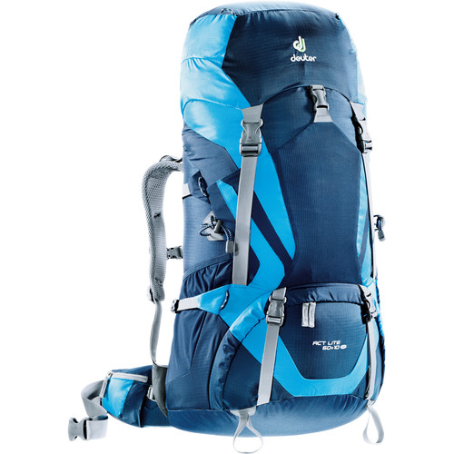Deuter Sport ACT Lite SL Backpack (60 +10, Midnight/Turquoise)