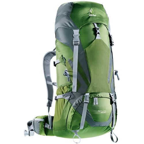 Deuter Sport ACT Lite 65 + 10 Backpack (Pine/Granite)