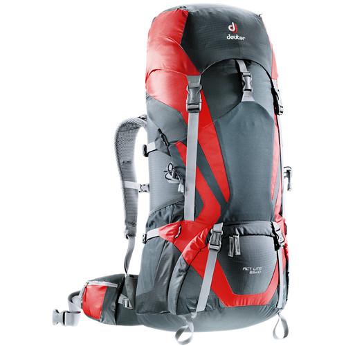 Deuter Sport ACT Lite 65 + 10 Backpack (Granite/Fire)
