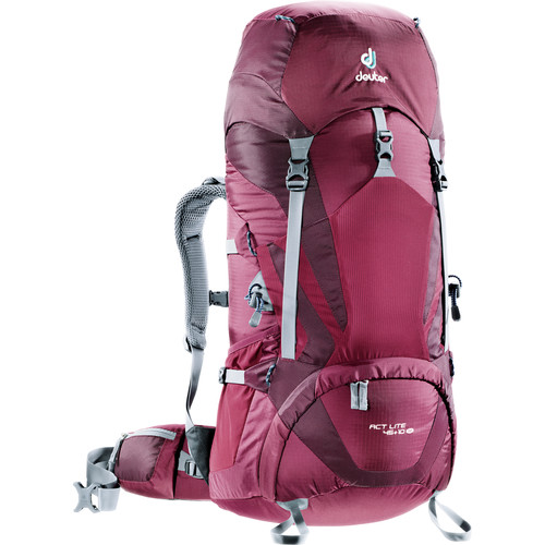 Deuter Sport ACT Lite SL Backpack (45 +10, Blackberry/Aubergine)