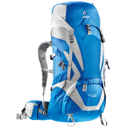 Deuter Sport ACT Lite 50 + 10 Backpack (Ocean/Silver)