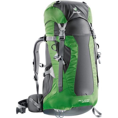 Deuter Sport ACT Zero 45 + 15 SL Backpack (Anthracite/Emerald)