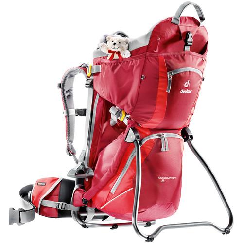 Deuter Sport Kid Comfort 2 Backpack (Cranberry/Fire)