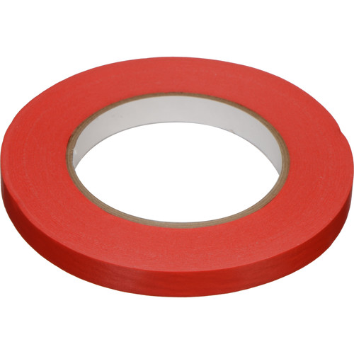 "Devek Devek Artist High-Tack Tape (1/2"" x 60 yd, Red)"