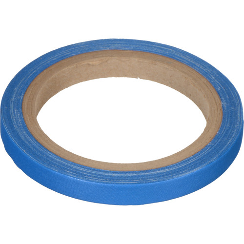 "Devek Gaffer Tape (1/2"" x 10 yd, Electric Blue)"