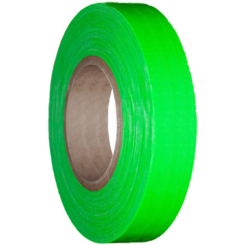 "Devek Gaffer Tape (1/2"" x 25 yd, Neon Green)"
