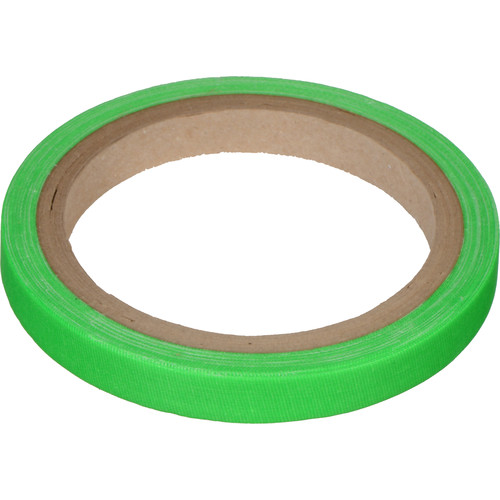 "Devek Gaffer Tape (1/2"" x 8 yd, Neon Green)"