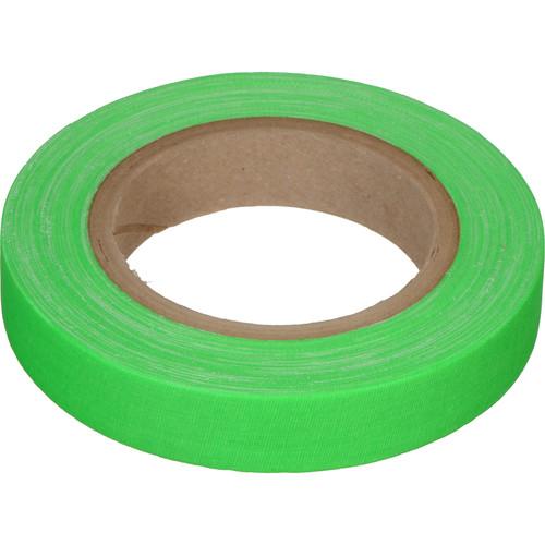 "Devek Gaffer Tape (1"" x 25 yd, Neon Green)"