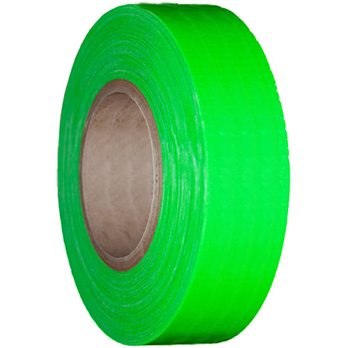 "Devek Gaffer Tape (2"" x 45 yd, Neon Green)"