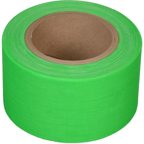 "Devek Gaffer Tape (3"" x 25 yd, Neon Green)"