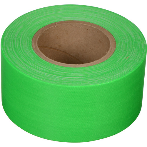 "Devek Gaffer Tape (3"" x 50 yd, Neon Green)"