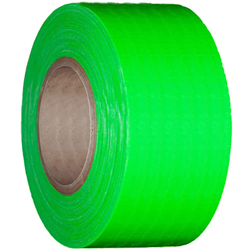 "Devek Gaffer Tape (4"" x 25 yd, Neon Green)"