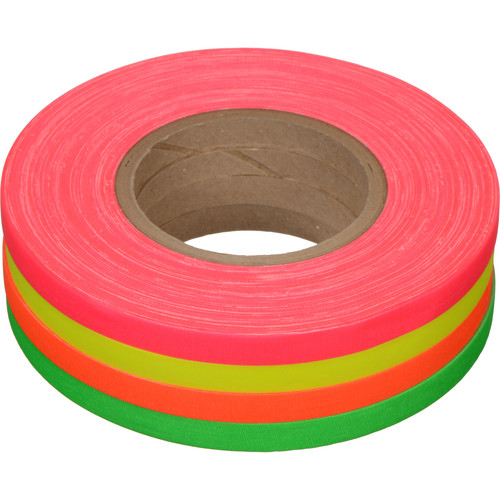 Devek Neon Gaffer-Spike Tape Rainbow 4-Pack