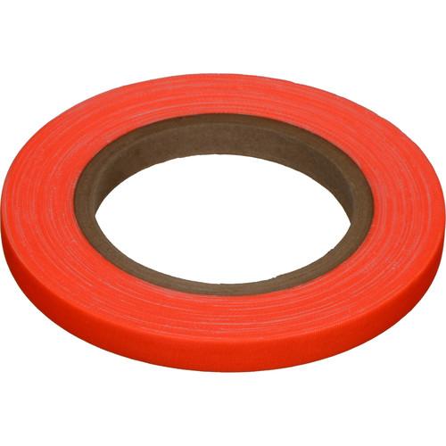 """Devek Gaffer Tape (1/2"""" x 25 yd, Neon Orange)"""