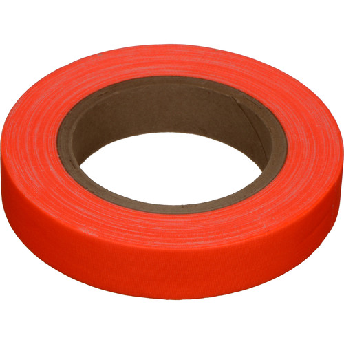 "Devek Gaffer Tape (1"" x 25 yd, Neon Orange)"