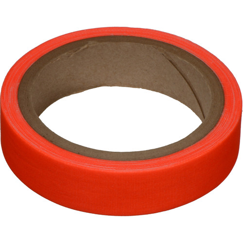 "Devek Gaffer Tape (1"" x 8 yd, Neon Orange)"