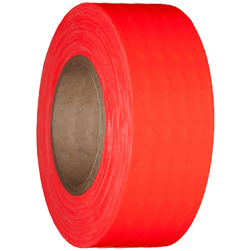 "Devek Gaffer Tape (3"" x 25 yd, Neon Orange)"