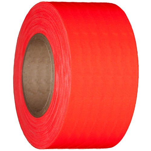 """Devek Gaffer Tape (4"""" x 25 yd, Neon Orange)"""