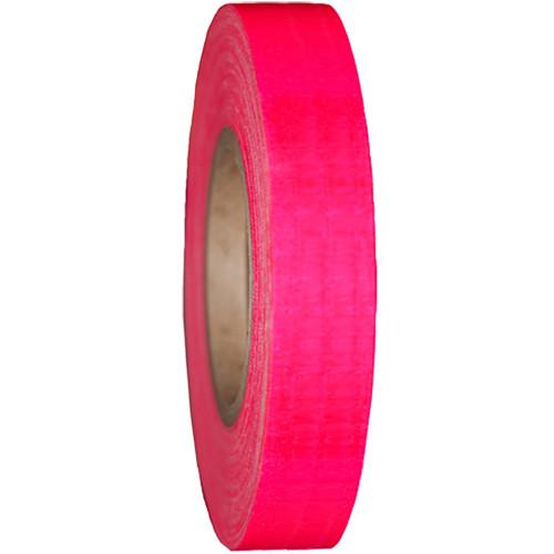 "Devek Gaffer Tape (1/2"" x 25 yd, Neon Pink)"