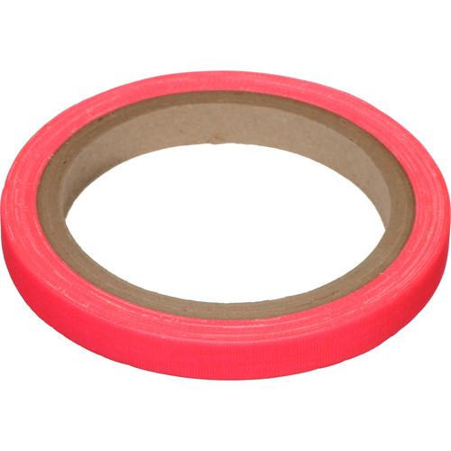 "Devek Gaffer Tape (1/2"" x 8 yd, Neon Pink)"