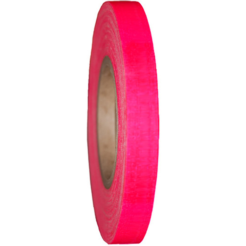 "Devek Gaffer Tape (1"" x 25 yd, Neon Pink)"