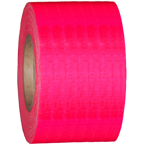 "Devek Gaffer Tape (4"" x 50 yd, Neon Pink)"