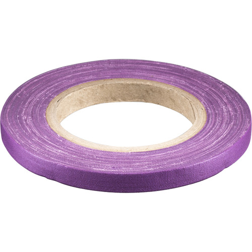 "Devek Gaffer Tape (1/2"" x 30 yd, Purple)"