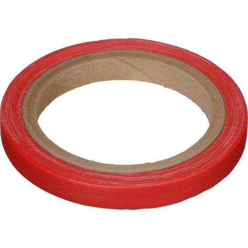 """Devek Gaffer Tape (1/2"""" x 10 yd, Red)"""