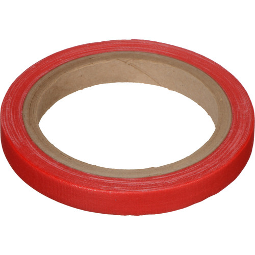 "Devek Gaffer Tape (1/2"" x 10 yd, Red)"