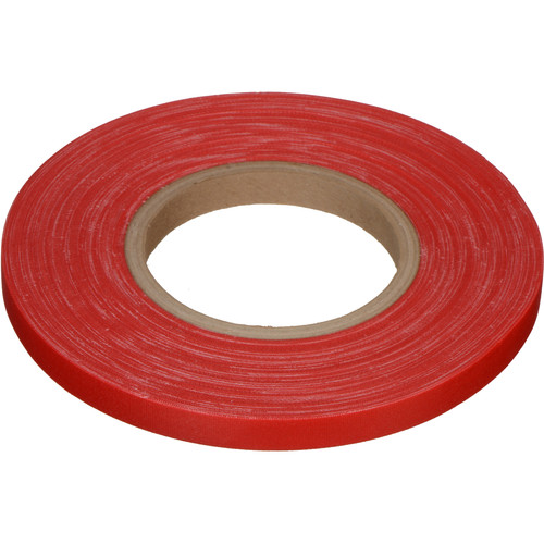 "Devek Gaffer Tape (1/2"" x 50 yd, Red)"