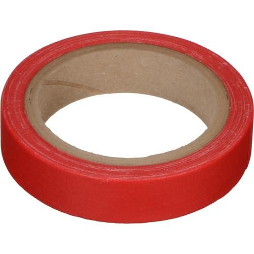 """Devek Gaffer Tape (1"""" x 10 yd, Red)"""