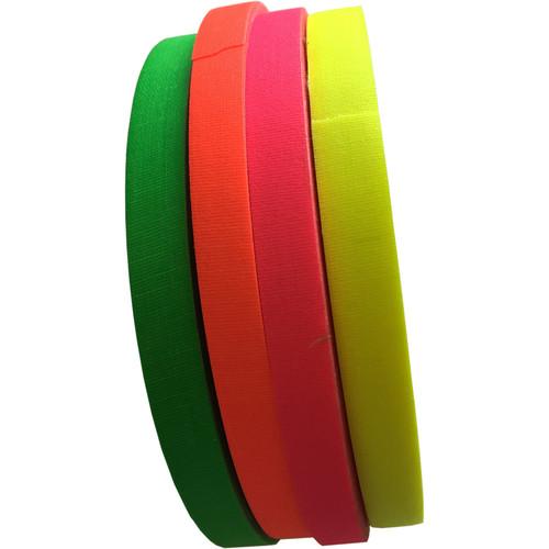 """Devek Neon Gaffer Tape Rainbow Pack (1/2"""" x 45 yd)"""