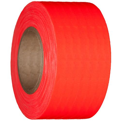 """Devek Gaffer Tape (4"""" x 45 yd, Neon Orange)"""