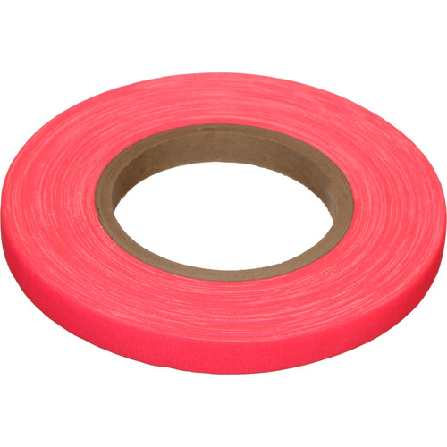 "Devek Gaffer Tape (1/2"" x 45 yd, Neon Pink)"