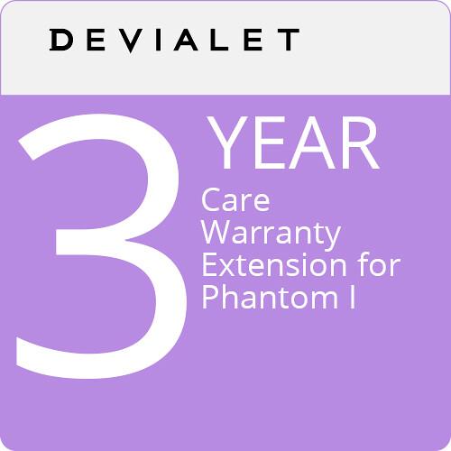 Devialet 1-Year Care Warranty for Phantom Premier