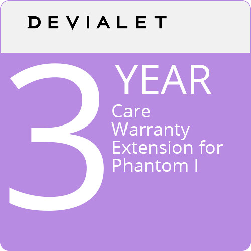 Devialet 1-Year Care Warranty for Phantom Reactor