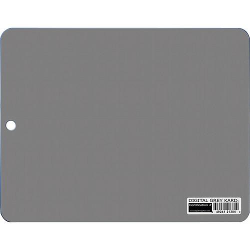 DGK Color Tools Tablet Size Digital Gray Kard - White Balance / Color Reference Card