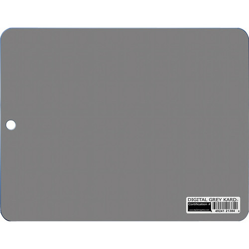 DGK Color Tools Tablet Size Digital Gray Kard - White Balance / Color Reference Card