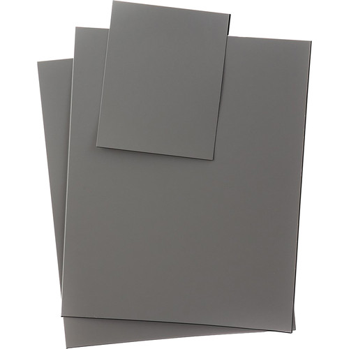 DGK Color Tools DGKR27-XT Digital Gray Cards (Set of 3)