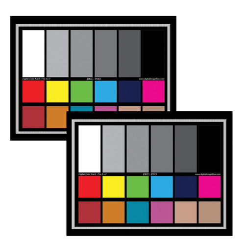 DGK Color Tools DKC-Pro Color Calibration & White Balance Chart Set