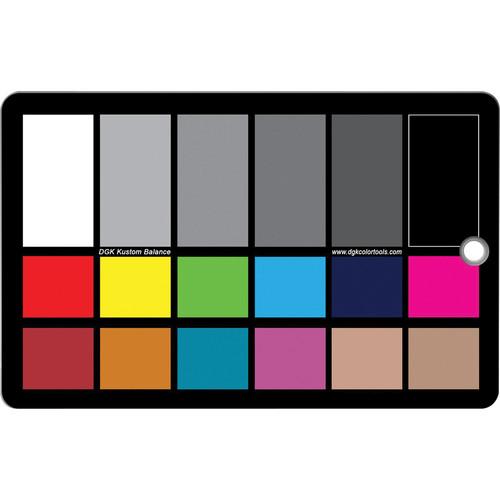 DGK Color Tools WDKK Waterproof Color Chart