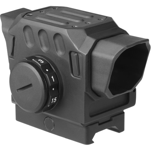 DI Optical EG1-203 Red Dot Reflex Sight (1.5 MOA Red Dot Illuminated Reticle, Matte Black)