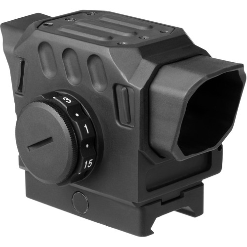 DI Optical EG1C Red Dot Reflex Sight (1.5 MOA Red Dot/65 MOA Circle Illuminated Reticle, Matte Black)